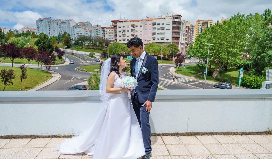 O casamento de Bruno e Ana em Ramada, Odivelas