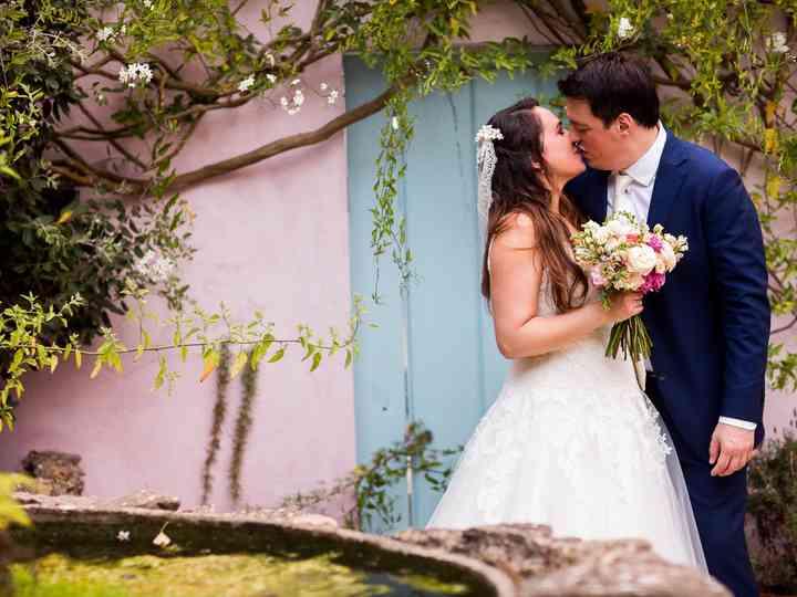 O casamento de Sara e Chris