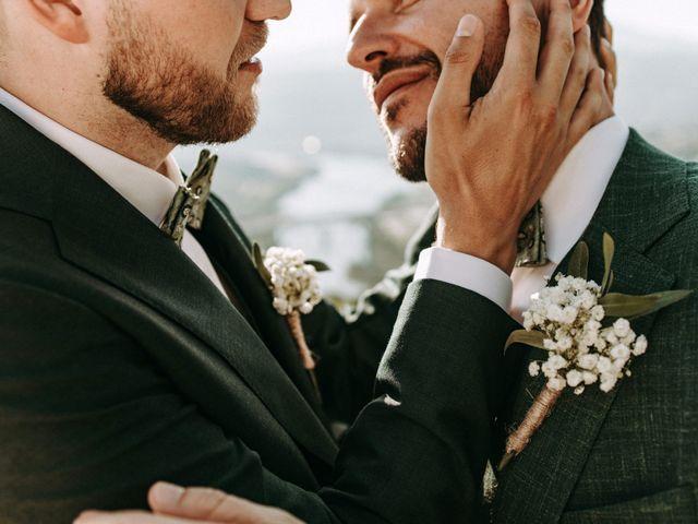O casamento de Erik e Carlos