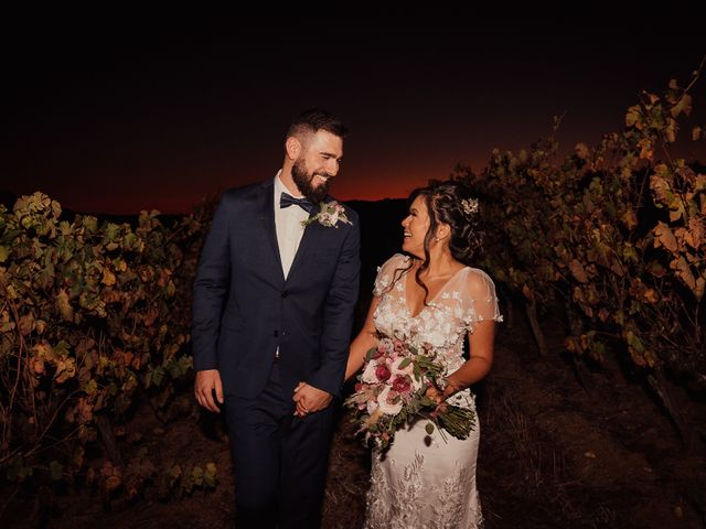 O casamento de Camila e Michael
