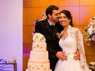 O casamento de Aila e Leonardo