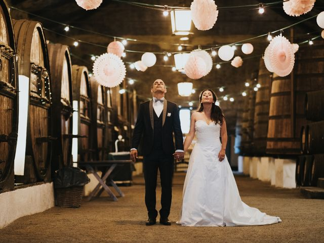O casamento de Sophie e Serge