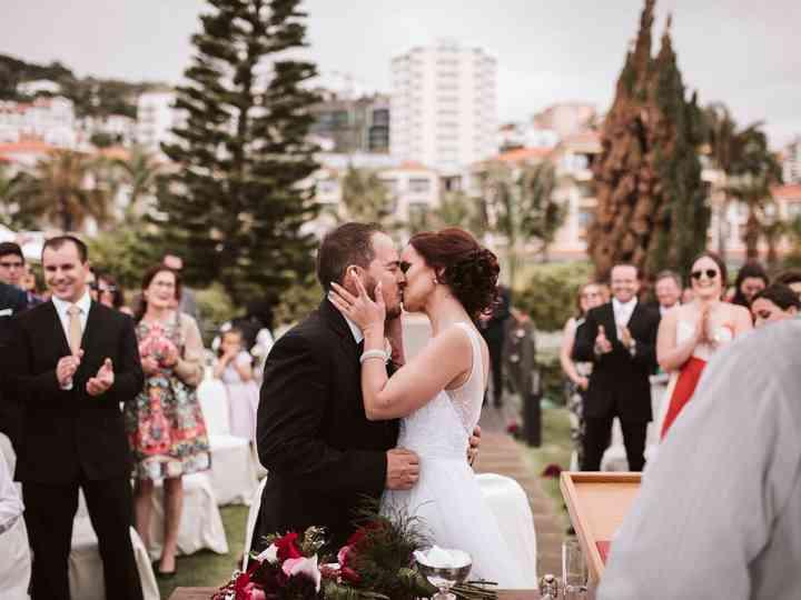 O casamento de Joana e Rúben