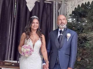 O casamento de Lisanias  e João  1
