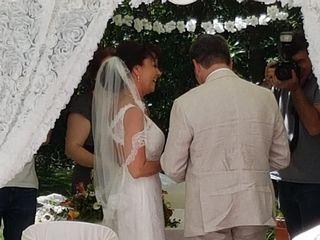 O casamento de Martina e François 2