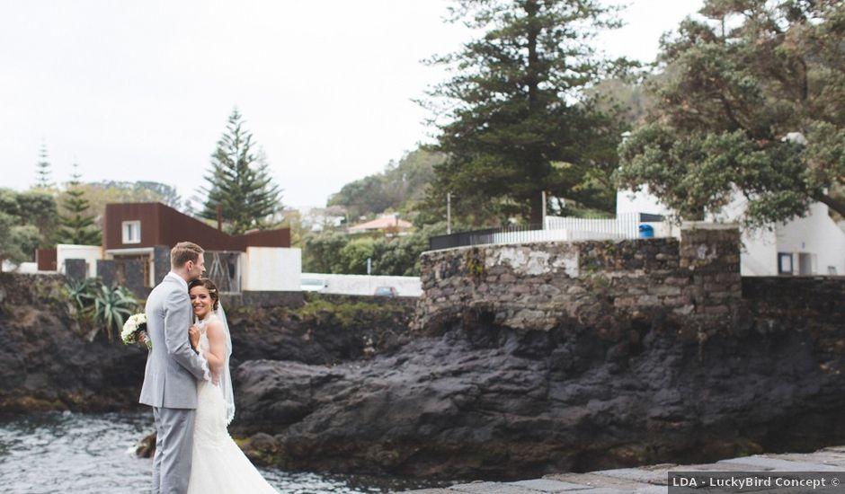 O casamento de Joey e Natalia em Ponta Delgada, São Miguel