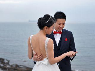 O casamento de Zhouyan e Jerson