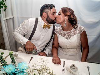 O casamento de Alexandra e Cláudio