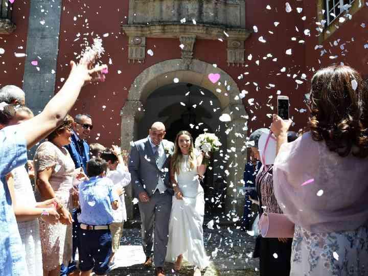 O casamento de Mariana e Nuno