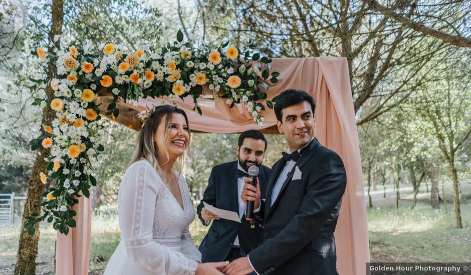 O casamento de Maria e Miguel