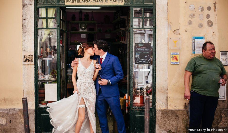 O casamento de André e Cindy em Lisboa, Lisboa (Concelho)