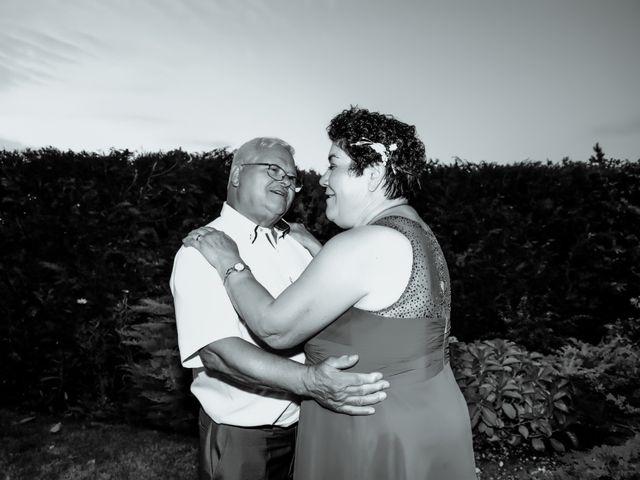 O casamento de Lucília e Moisés