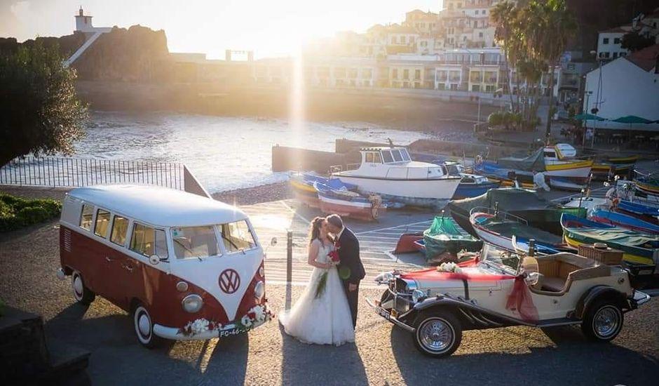 O casamento de José e Ana em Funchal, Madeira