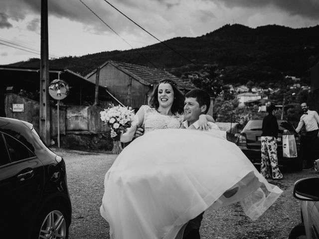 O casamento de Gabriel e Andreia em Caldas de São Jorge, Santa Maria da Feira 15