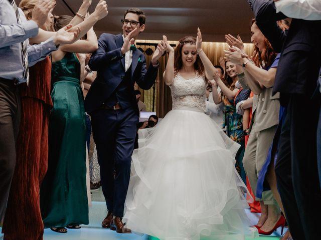O casamento de Gabriel e Andreia em Caldas de São Jorge, Santa Maria da Feira 39