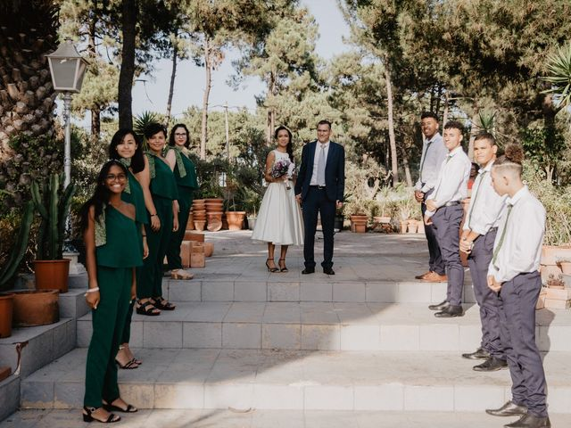 O casamento de Sandra e Marco