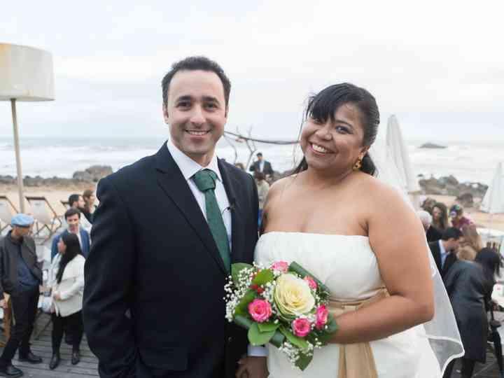 O casamento de Pedro e Liliane