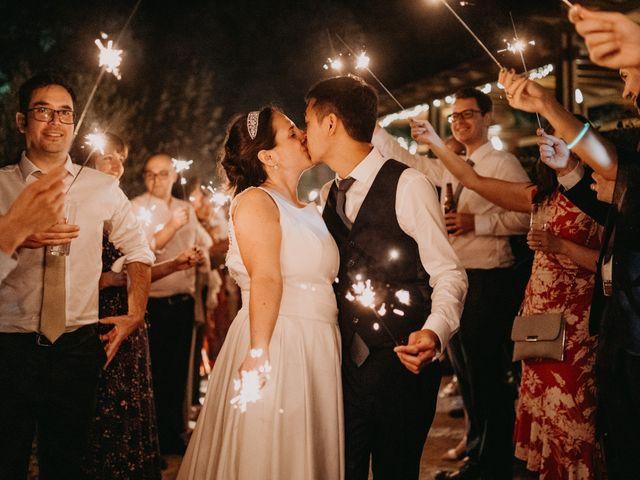 O casamento de Tânia e David