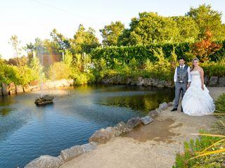 O casamento de Eliano e Celia