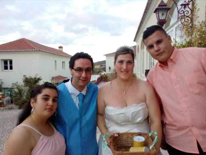 O casamento de Rui e Raquel