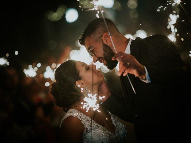 O casamento de Nádia e Sérgio