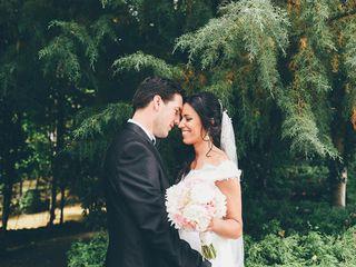 O casamento de Isabel e Sérgio