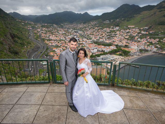 O casamento de David e Vanessa em Machico, Madeira 1