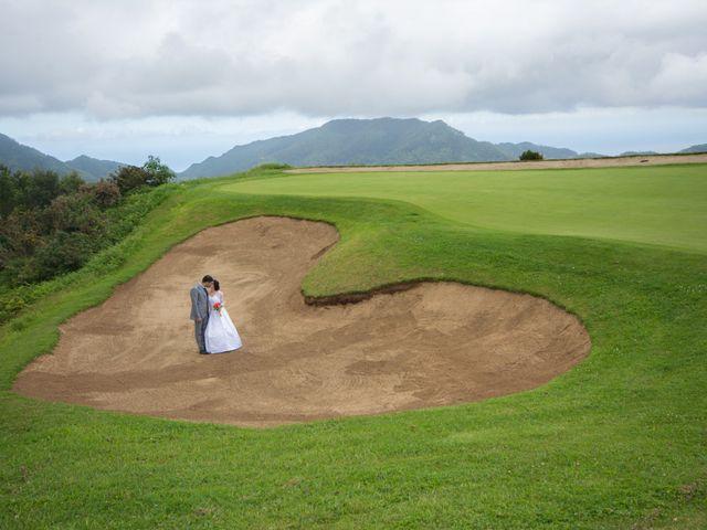 O casamento de David e Vanessa em Machico, Madeira 4