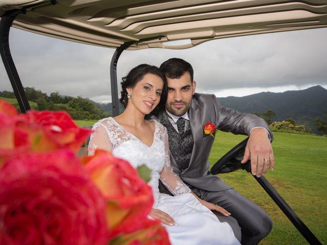 O casamento de David e Vanessa em Machico, Madeira 6