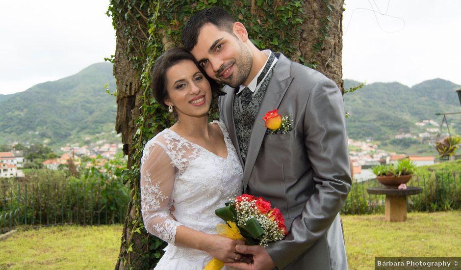 O casamento de David e Vanessa em Machico, Madeira