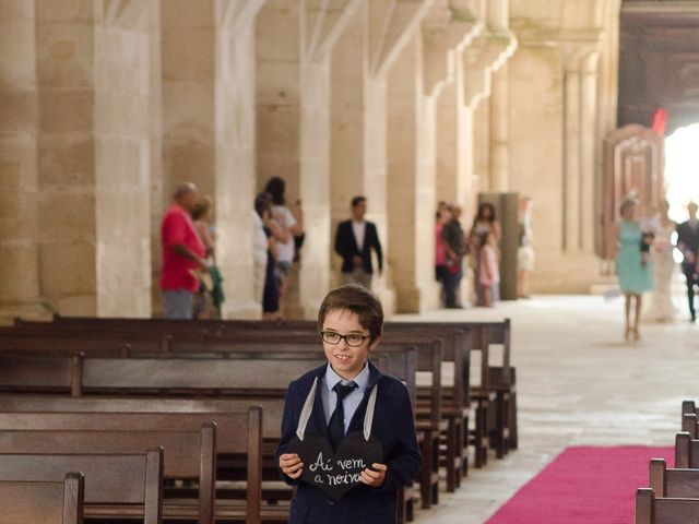 O casamento de Hugo e Carolina em Alcobaça, Alcobaça 24