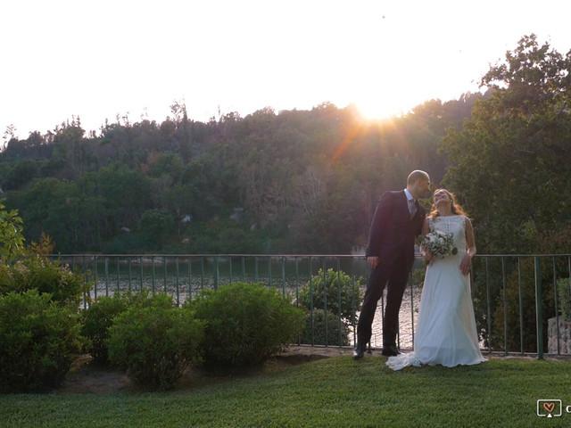 O casamento de Tiago e Tânia em Fiais da Telha, Carregal do Sal 1