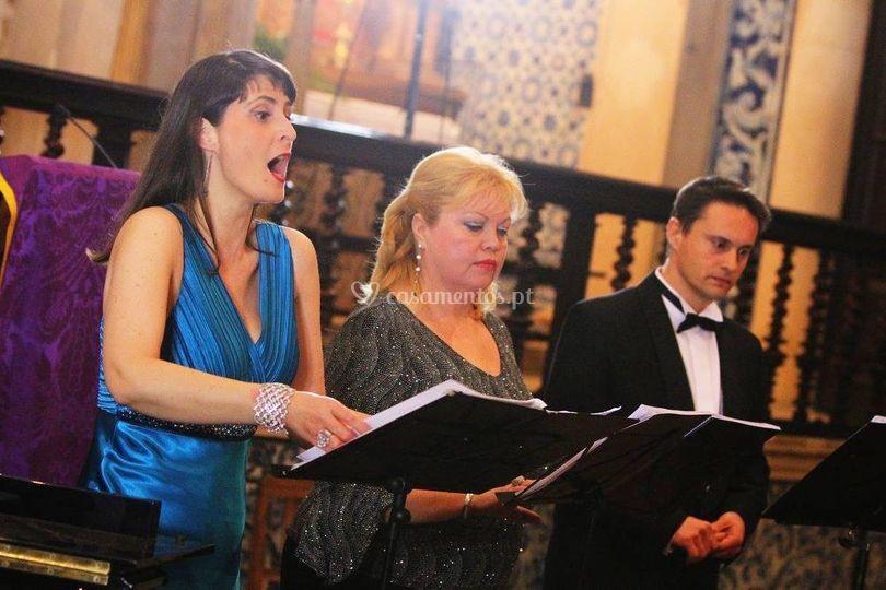 Concerto na igreja