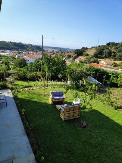 Jardim com vista para a Batalh