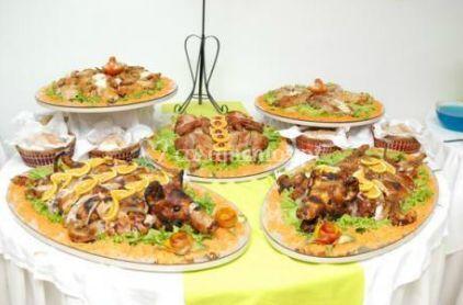 Decoração de buffet