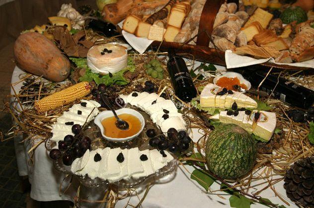 Buffet de queijo