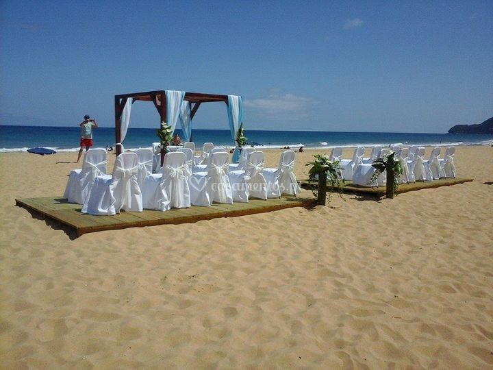 Cerimonia praia