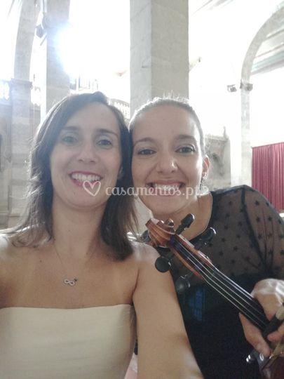 Pianista e violinista