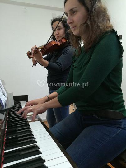 Ensaio dueto