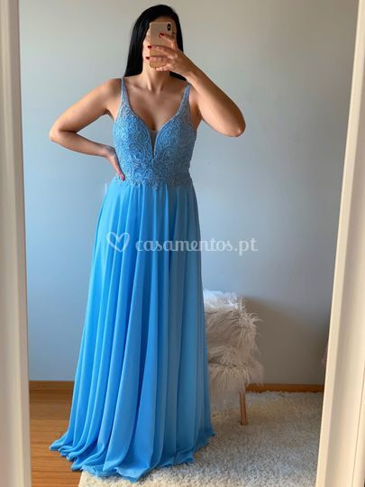 Charlize Azul Céu