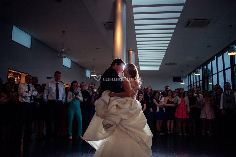 Durante o baile