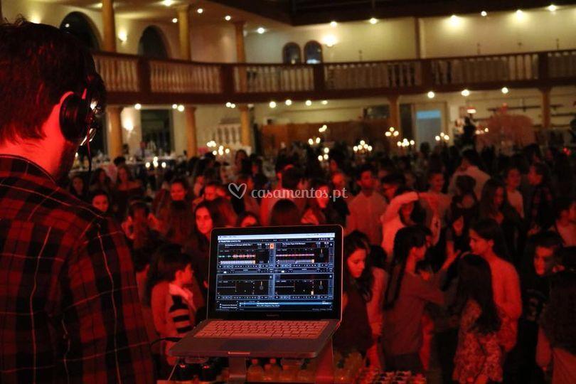 Festa em salão