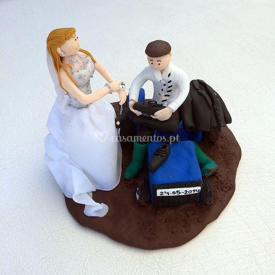 IdeiasNaModa - Topo de bolo