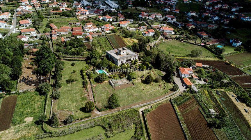 Vista aérea foto Paulo Mainha