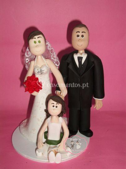 Casal com filha