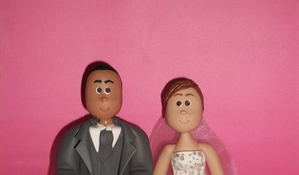 Paty´s Cake Topper 1