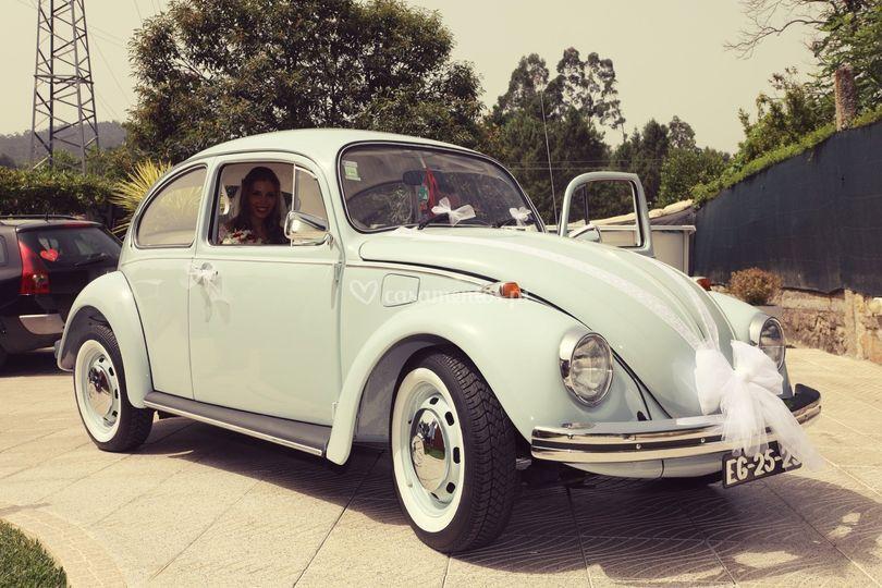 VW Carocha Azul Bebé