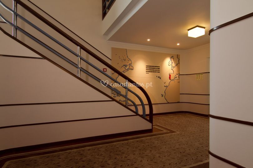 Stairs Art deco