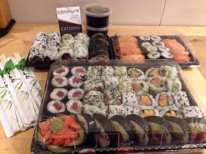 Caixas Sushi4home
