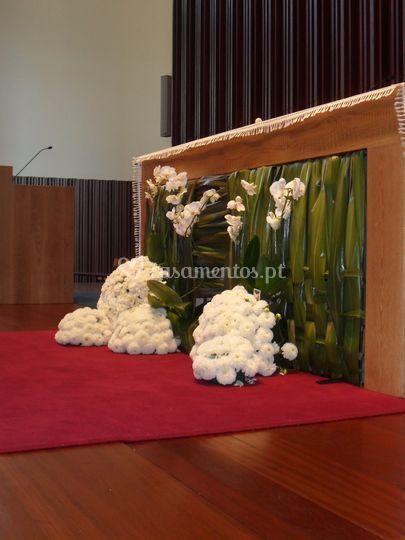 Decoração igreja(altar)